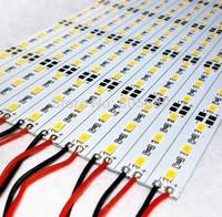 free shipping 990*12*1mm rigid led strip light 72led/m high bright 5630smd jewelry lamp rigid strip bar 18W 6000-6500K