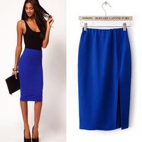 #YZX727 New 2014 Fashion Women Girls' Mini Short Skirts Lovely Denim Skirt Free Shipping