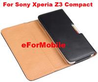 PU Case Belt Clip Case Mobile Phone Case  For Sony Xperia Z3 Compact Xperia Z3 mini/M55W