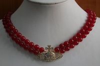 Pure quality AAA grade jade necklace, free shipping. A-495