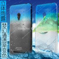 CASESSS_New Original Imak stereo raindrop semitransparent hard case with screen protector film for ASUS ZenFone5 ZenFone 5