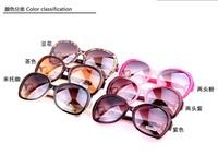 New 2014 oculos de sol coating sun fashion sunglasses women brand designer outdoors tourism glasses Free shipping