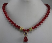 Pure quality AAA grade jade necklace, free shipping. A-510