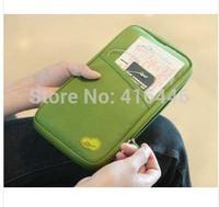 HOT fashion passport cover Multifuntion passport holder business card holder women handbag wallet Free shipping