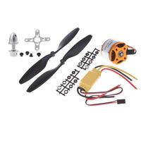 4Set Universal RC Quadcopter Part Kit 1045 Propeller + HP 30A Brushless ESC + A2212 1000KV Outrunner Brushless Motor