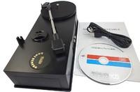 USB Portable Mini Phonograph 33/45RPM Turntable Vinyl Record Player Converts Turntables Vinyl LP Audio to MP3 WAV CD  USB to PC