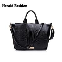 Fashion Luxury Crocodile Pattern Leather Women Handbag Brand Ladies Office Bag Big Tote Day Clutch Genuine Leather Desigual Bag