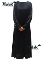 Free shipping kaftan jilbabs of Dubai design and Islamic clothing for woman high quality muslim abaya for the lady ram112