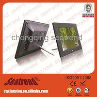 Big screen digital photo frame support music/video OEM muti-functional large size big screen 13 inch digital photo frame