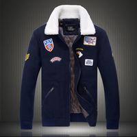 Brand aeronautica militare men jacket 2014 jaquetas militares Jackets Men's Sport Trench Outerwear Coat Air Force polo Jackets