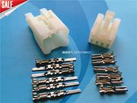 6p 2.3 audio plug connector 6 line car electrical wire bundle refires connector molded case shezthed
