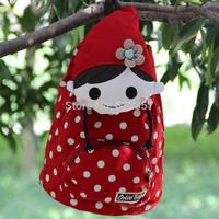 New Personalized Cartoon cute female baby nursery bag leisure backpack
