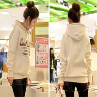 2014 New Arrival Women Keep Warm Thicken Big Size Pullovers Hoodies 9023