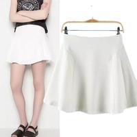 #YZX734 New 2014 Fashion Women Girls' Mini Short Skirts Lovely Denim Skirt Free Shipping
