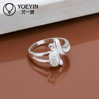 R284  925 Sterling silver  new design finger ring for lady