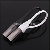 Danish black titanium car key chain keychain creative exquisite Scandinavian style Key Ring