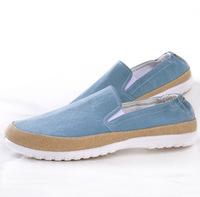 Fashion 2014 Autumn men's boots Brand Europeans American Stylish Canvas Cloth Walking Shoes Men Casual flats Vintage