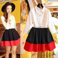 Free shipping 2014 autumn new women dress,women elegant office-lady turn-down collar ball-gown one-piece dress
