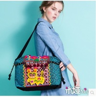 Original design new arrival chinese embroidery women handbags canvas bags
