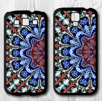 Turkish Floral Mandala Protective Cover Case For Samsung Galaxy S4 S3