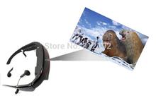 Nouvelle arrivée, Hot vente 72 polegada grand écran lunettes vidéo pour ipod / DVD / TV + livraison gratuite(China (Mainland))