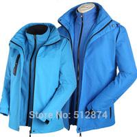 Three Kinds Of Wear Real Brand Sport Men ski-wear Waterproof Windbreaker Breathable Coat Supreme Jackets Mens Coats And Jackets