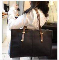drop  shipping! 2014 New Women goog quality PU Leather Message HandbagsTote Handbag Casual Shoulder Bag