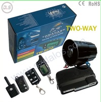 2014 Free Shipping  DLS tw9010 auto car alarms/2 way car alarm remote control/magicar car alarm system