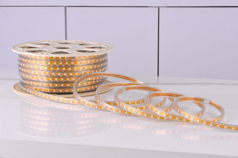 15M 5050 LED strip 220V 230V 240V white/warm white Waterproof flexible SMD led strips IP65 + Free Plug(China (Mainland))