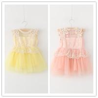 Hu sunshine wholesale new 2014 Autumn dress fashion girls Eugenyarn lips print  leisure dress for girls