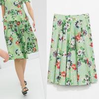 #YZX739 New 2014 Fashion Women Girls' Mini Short Skirts Lovely Denim Skirt Free Shipping
