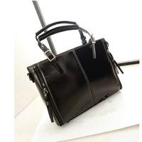 Genuine Leather Women Handbags Autumn and Winter Famous Brand Designer Ladies Casual Tote Shoulder Bag Horizontal Version H01097
