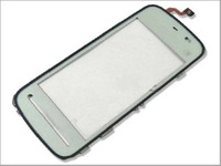 Front Glass Screen Touch Screen Replacement Panel for NOKIA 5230 5233 5232 5235 White Free Shipping