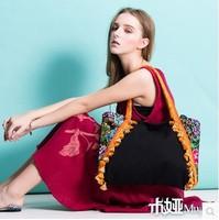 Original design new arrival chinese embroidery women handbags women messenger bags canvas bags