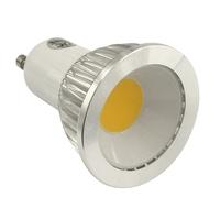 GU10 Led lamps 85-265V 110V 220V 230V AC COB 3W Equivalent 25W Halogen Light