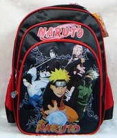 NARUTO male boy Backpack school bag