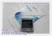 Free Shipping! 2 pcs/lot New 1500mAh EB535151VU Cellphone Battery for Samsung i9070/i9000/I9003/i9001/i917/i589/i919