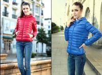 New 2014 Fashion Parkas Winter Female Down Jacket Women Clothing Winter Coat Color Overcoat Women Jacket