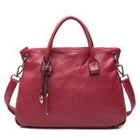 2014 First Layer Of Cowhide Women Handbag New Women Leather Handbag Vintage Shoulder Bag Hot Women Messenger Bags Trendy Totes