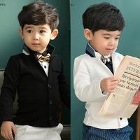 Children coat spring&autumn Boys clothes coats  jacket  kids gentleman student clothes suit outwear ETJ-S0375