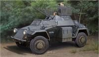 Hobby Boss model 83815 1/35 Sd.Kfz.222 Leichter Panzerspahwagen(1st Series)  plastic model kit