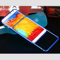 Push Pull Style Metal Aluminium Bumper Slim Metal Hybrid No Screw Bumper Frame For Samsung Galaxy Note 3 N9000