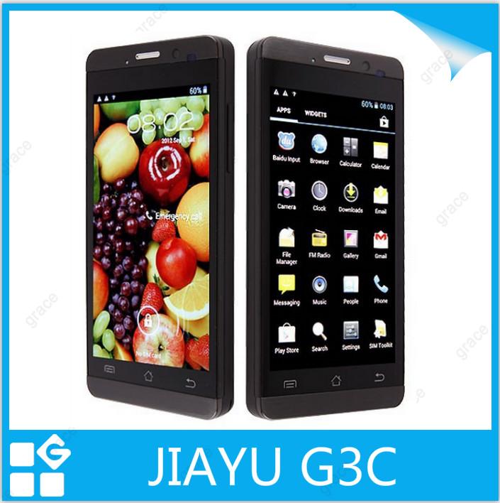 In Stock Original Jiayu G3C 4.5 Inch HD IPS 1280x720 MTK6582 Quad Core Android 4.2 Smart Mobile Cell Phone GPS JIAYU G3(China (Mainland))