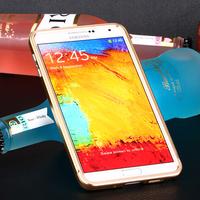 Push Pull Style Metal Aluminium Bumper For Samsung Galaxy Note 3 N9000