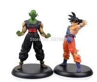 Dragon Ball Action Figures Goku & Piccolo Super Saiyan and Demon King 2pcs/set PVC 23cm higt toys boys gift