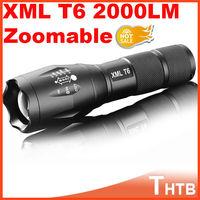 UltraFire portable tactical lanterna waterproof CREE UltraFire E17 CREE XM-L T6 2000 Lumens Zoomable LED Flashlight Torch light