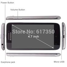 Original Lenovo S658T ROM 8GB 4 7 inch Android 4 2 2 SmartPhone MTK6582T Quad Core