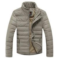 Fashion 2014 Winter Coat Men Duck Down Jacket  Light Soft Outdoor Parka Warm Clothing Men's Windstoppers