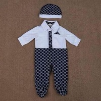 New Arrivals newborn baby clothing baby boy rompers with hat bebe overalls clothes cotton comfortable baby romper infant wear