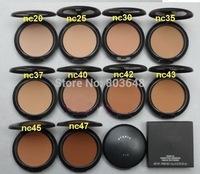 10pieces Pressed Powder Cosmetics Studio Fix Powder Plus Perfect foundation Fond Teint COLOR 15g makeup Free Shipping